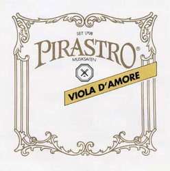 Pirastro Viola D'Amore Sympathetic strings. SET