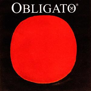 Pirastro Obligato Violin String, D 1/8-3/4 Size