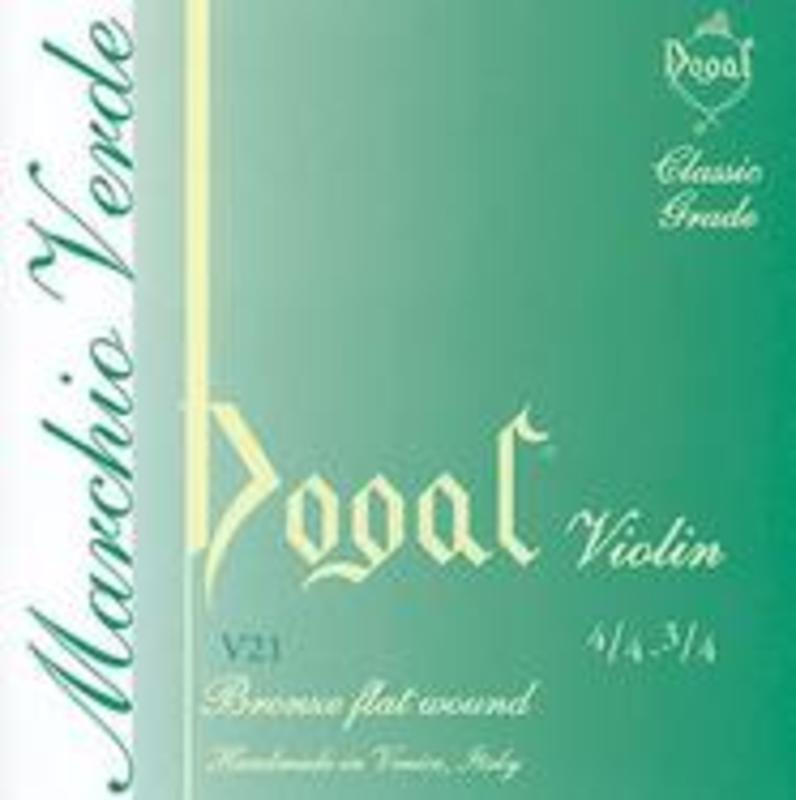Image of Dogal Green Label Violin Strings, SET