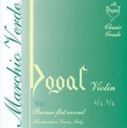Dogal Green Label Violin Strings, SET