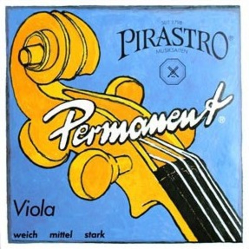 Image of Pirastro Permanent Viola Strings. SET
