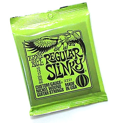 Ernie Ball Slinky Electric Guitar Strings. SET