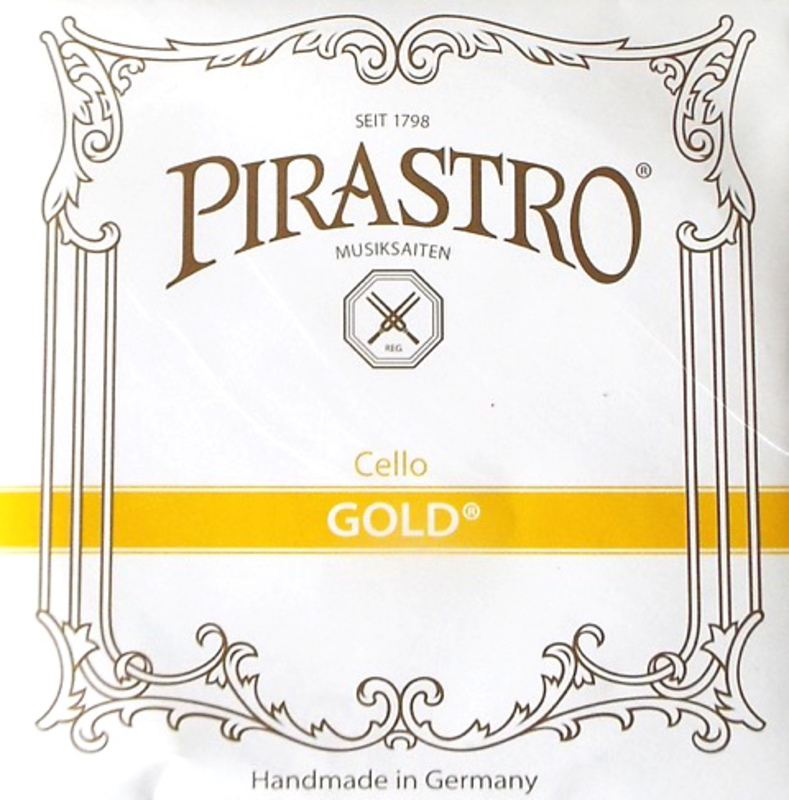 Image of Pirastro Gold Cello string, A