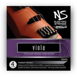 NS Electric Viola Strings, SET
