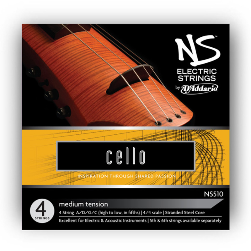 Image of D'Addario NS Electric Cello Strings, SET