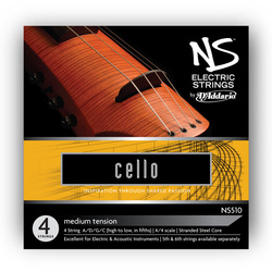 D'Addario NS Electric Cello Strings, SET