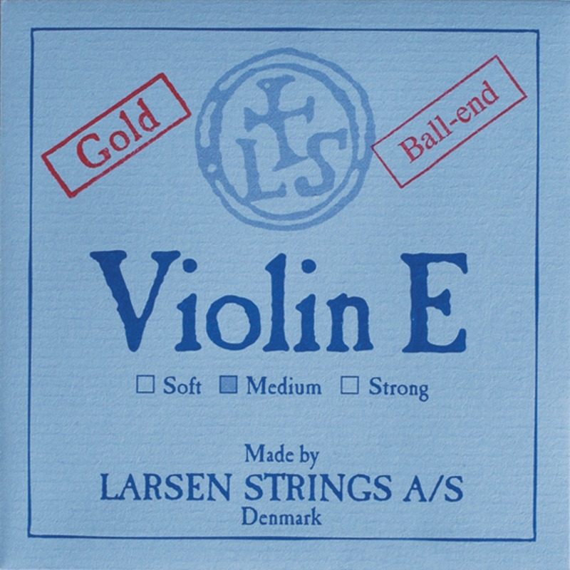 Image of Larsen Violin String, E Gold