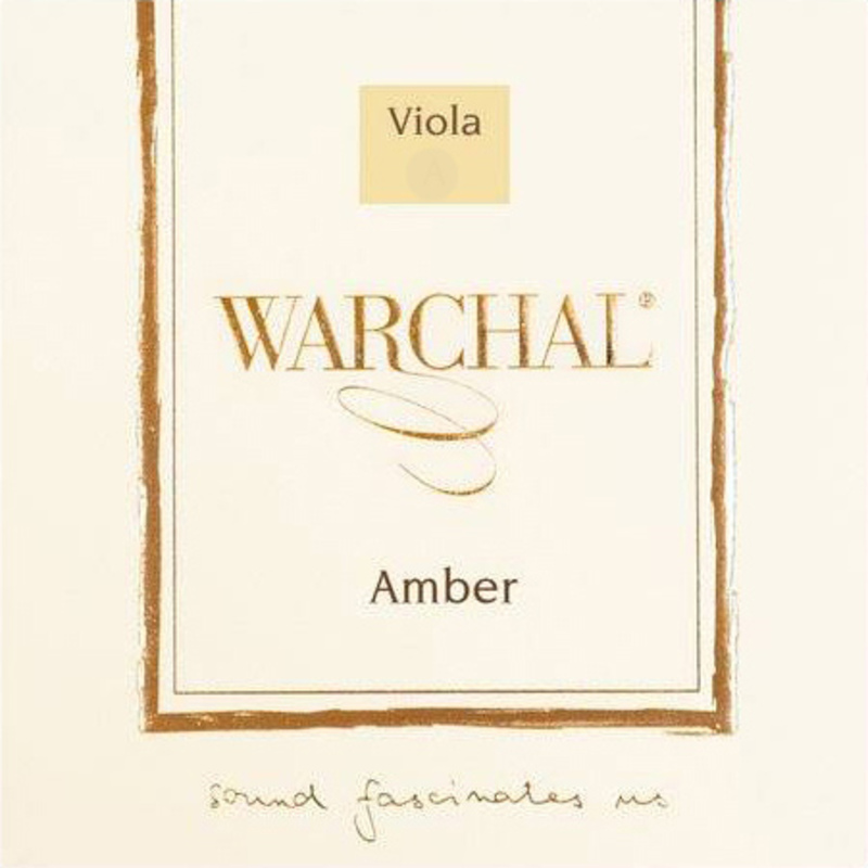 Image of Warchal Amber Viola strings, SET
