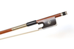 Nickel Mounted Viola Bow by A. Carvalho