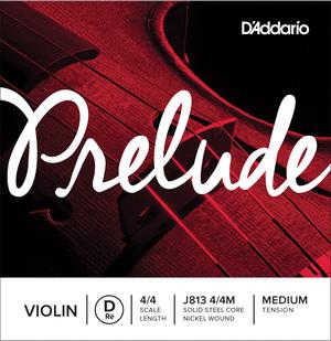 D'Addario Prelude Violin String, D