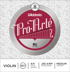 D'Addario Pro Arte Violin Strings, SET