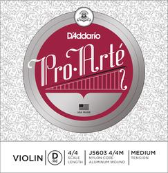 D'Addario Pro Arté Violin String, D