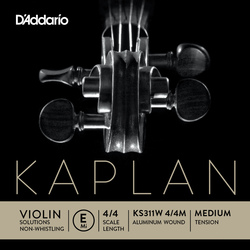 Kaplan Solutions Non-Whistling Violin String, E