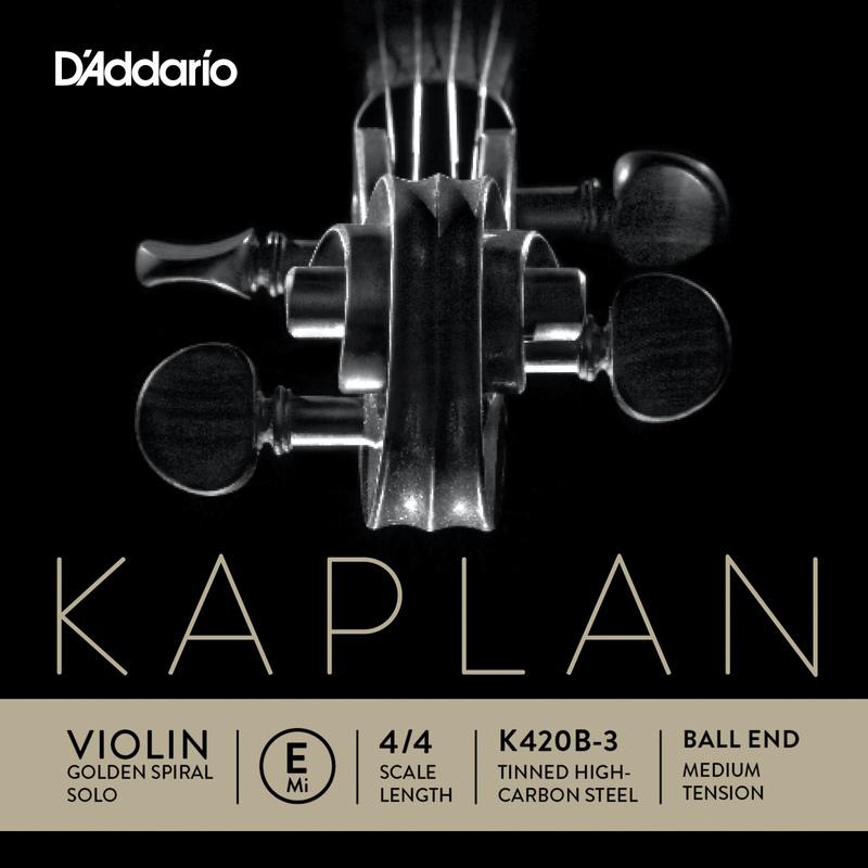 Image of Kaplan Golden Spiral Solo Violin String, E