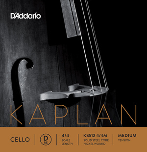 Kaplan Cello String, D