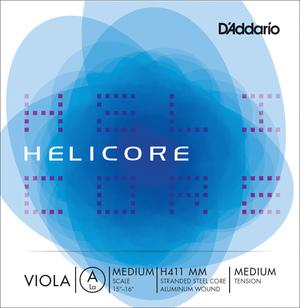 D'Addario Helicore Viola String, A