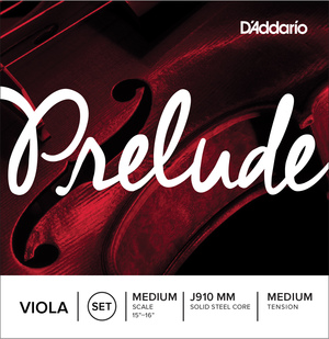 D'Addario Prelude Viola Strings, SET.