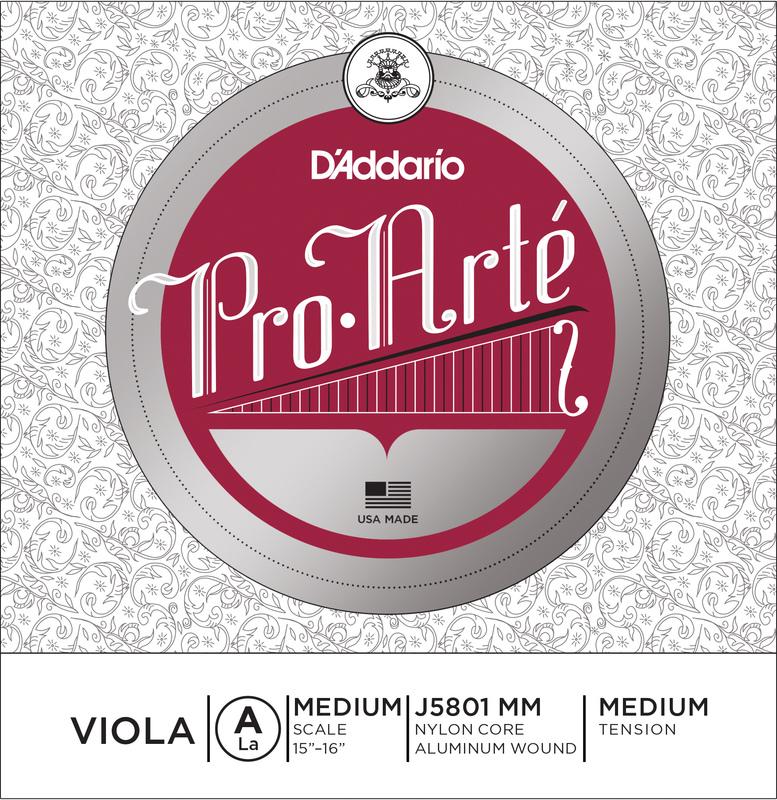 Image of D'Addario Pro Arté Viola String, A