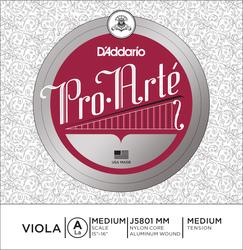 D'Addario Pro Arté Viola String, A