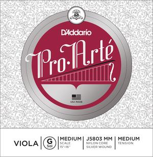 D'Addario Pro Arté Viola String, G