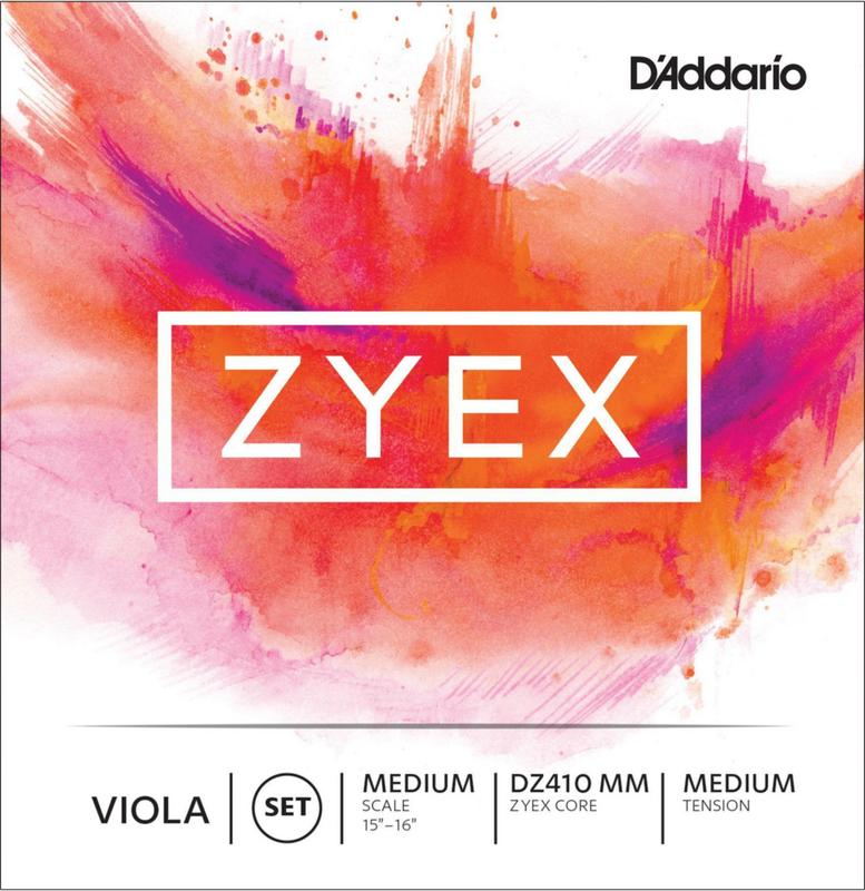 Image of D'Addario Zyex Viola Strings. SET
