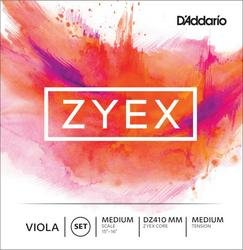 D'Addario Zyex Viola Strings. SET
