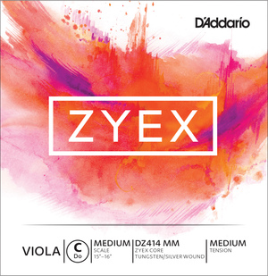 D'Addario Zyex Viola String, C