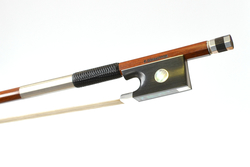 Special Edition Silver Mounted Violin Bow by F. Schaeffer