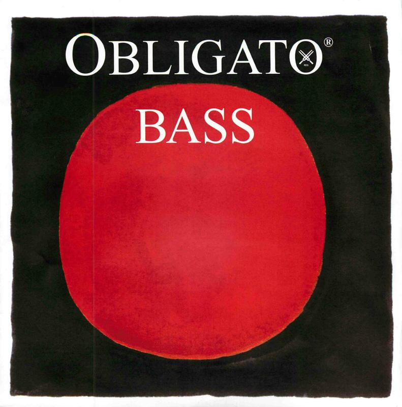 Image of Pirastro Obligato Double Bass String, E Extension