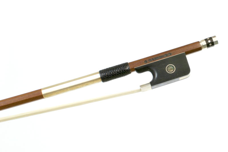 Image of 3* Silver Mounted Viola Bow by W.E. Dorfler