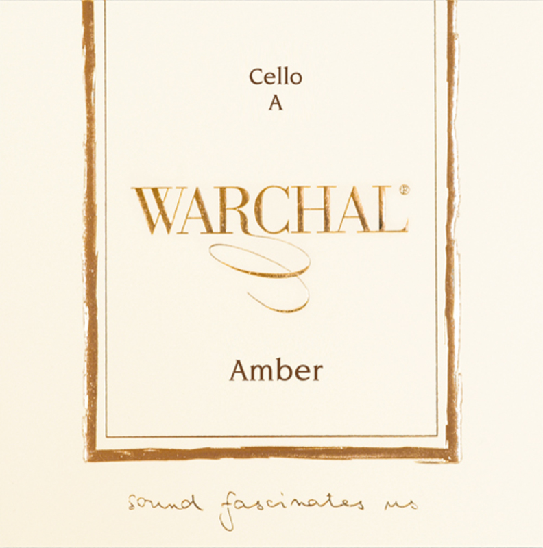 Image of Warchal Amber Cello String, D