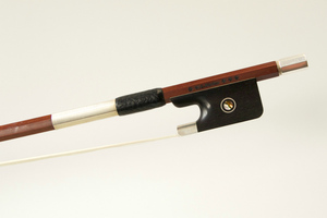 4* Silver Mounted Viola Bow by W.E. Dorfler