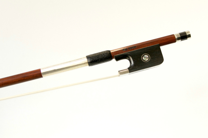 Image of Nickel Mounted Viola bow by W.E. Dorfler