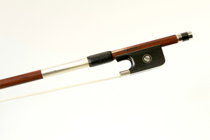 Nickel Mounted Viola bow by W.E. Dorfler