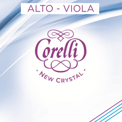 Corelli Crystal Viola Strings, SET