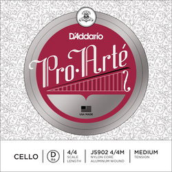 Pro Arté Cello String, D