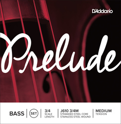 D'Addario Prelude Double Bass Strings, SET