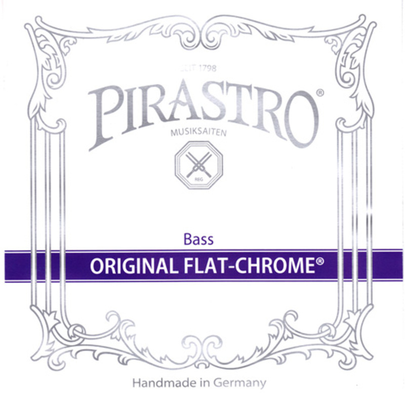 Image of Pirastro Original Flat-Chrome Double Bass String, A1 Solo