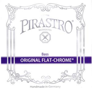 Pirastro Original Flat-Chrome Double Bass String, B3 Solo