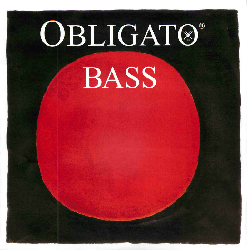 Image of Pirastro Obligato Double Bass String, B3 Solo
