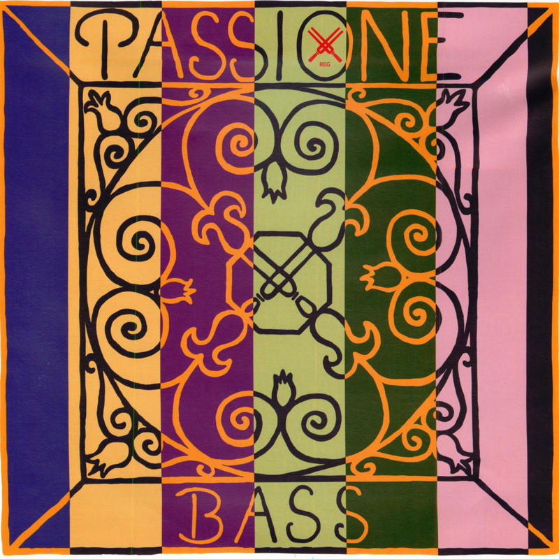 Image of Pirastro Passione Double Bass String. F#4, Solo