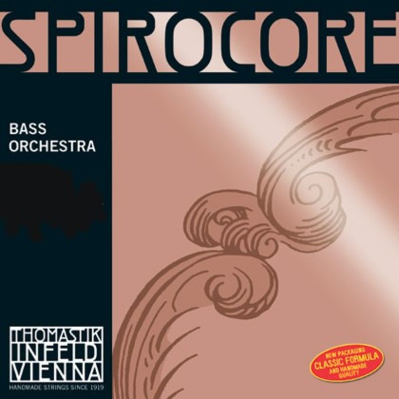 Image of Thomastik Spirocore Double Bass String, B3 Solo