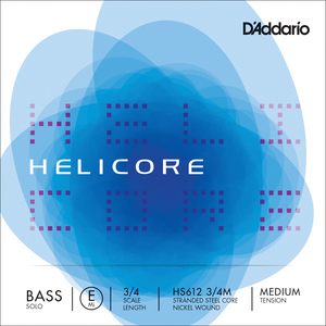 Helicore Solo Double Bass String, E2
