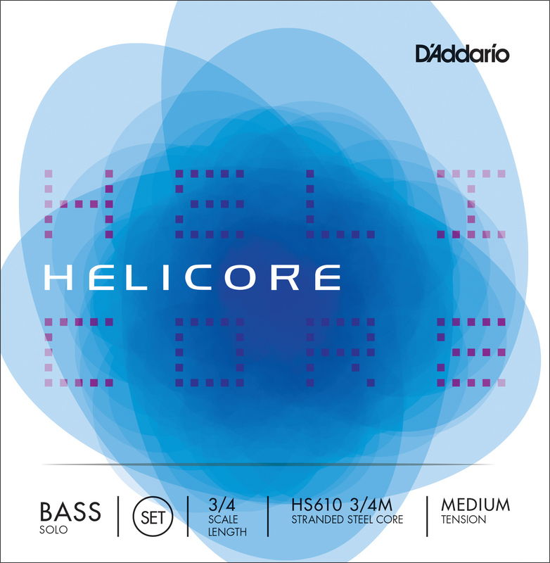 Image of Helicore Solo Double Bass Strings, SET