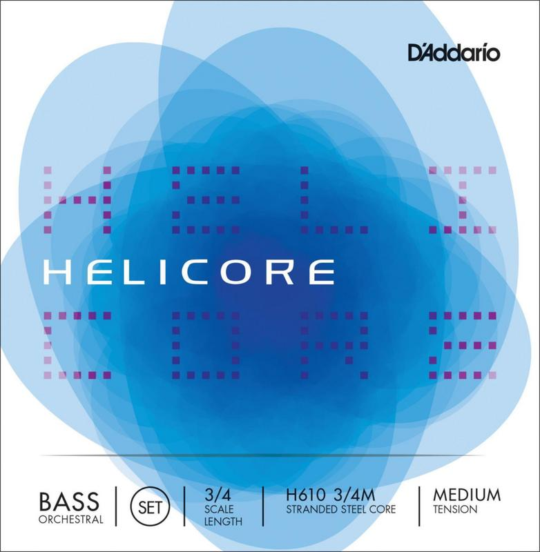 Image of D'Addario Helicore Double Bass Strings. SET