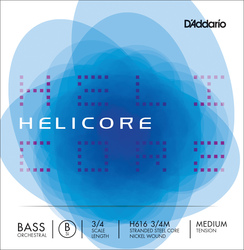 D'Addario Helicore Double Bass String, Low B (H5)