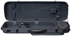 Hidersine Polycarbonate Violin Case. Oblong Model.