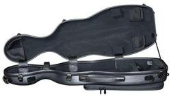 Hidersine Polycarbonate Violin Case. Gourd Model.
