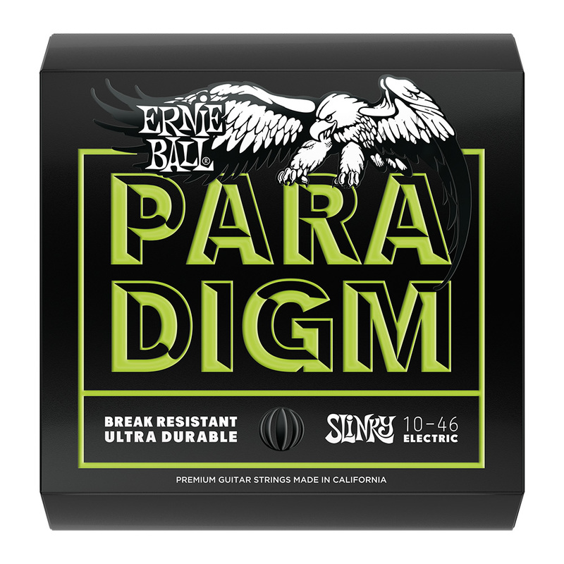 Image of Ernie Ball Paradigm Slinky Electric Guitar Strings. SET