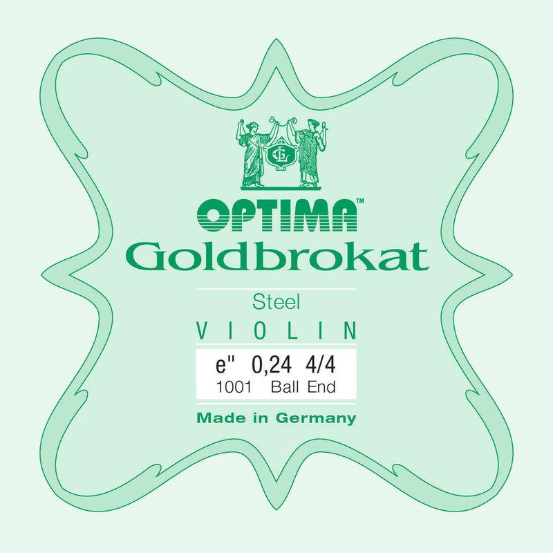 Image of Optima Goldbrokat Violin E String, Steel